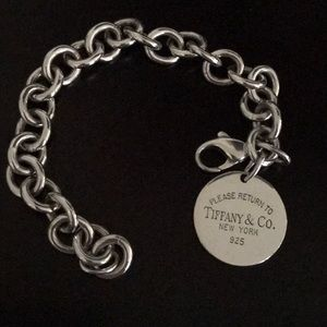 Tiffany & Co. Jewelry - Tiffany & Co. Return to Tiffany Sterling Bracelet